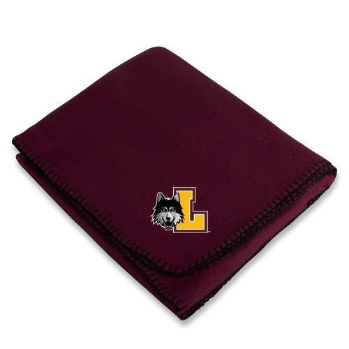 (Loyola Chicago Maroon Arctic Fleece Blanket 'L Mark')