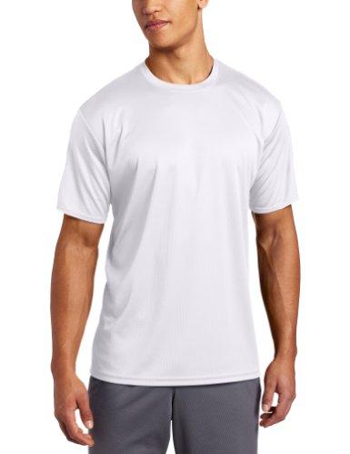 ASICS Men's Circuit-7 Warm Up Running Shirt,White,X-Large