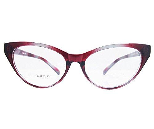 Agstum Ladies Womens Cat eye Glasses Frame Optical TR90 Eyeglasses (Gradient - Frames Eyeglass Gradient