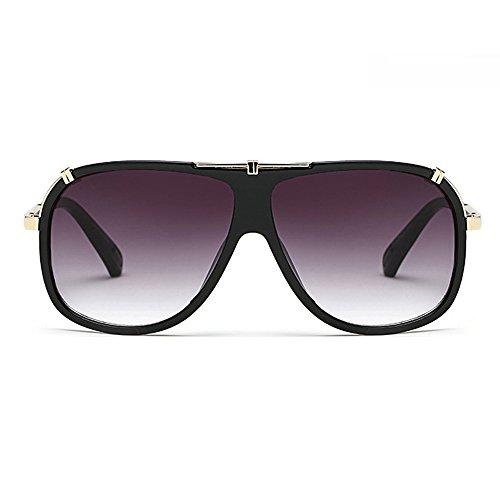 Lunettes avec hommes pour Big pour Gris étui Lens homme Vision de Eye soleil Aviator lunettes Boss de noir vue Wear Day conduite Oversize x7UqdRXSwX