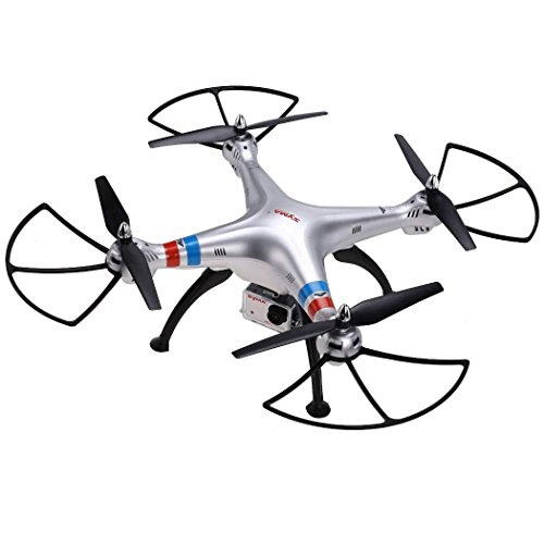 Syma X8G 2.4g 4ch 6 Axis Gyro RTF RC Drone Quadcopter With 8MP 1080P HD Camera (2015 New Version)