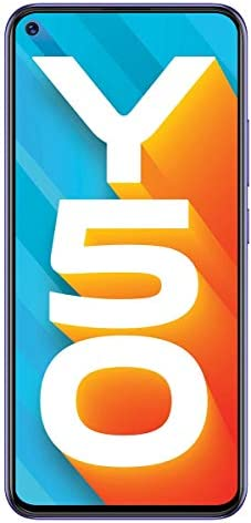 Vivo Y50 (128GB+8GB) グローバル版/日本語対応/Quadカメラ(13MP+8MP+2MP+2MP) / 5000mAh大容量バッテリ / Dual SIM/SIMフリー (Iris Blue/アイリスブルー)