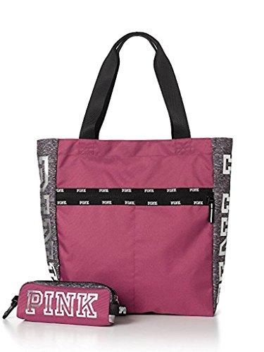 Victoria's Secret Pink Zip Tote Bag