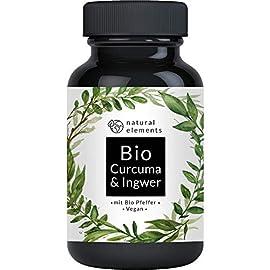 Bio Curcuma und Ingwer