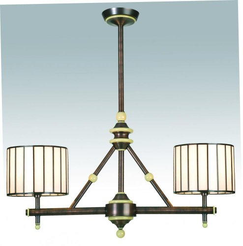 Meyda Tiffany 98366 Revolution 2 Light Island Pendant, 30