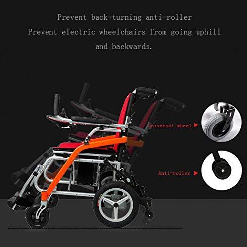 GJX Scooter âgé portátil, Bicicleta de aleación de magnesio, Silla de Ruedas eléctrica handicapé Ligero, tamaño B: Amazon.es: Deportes y aire libre