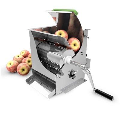Harvest Fiesta Stainless Steel Apple Crusher, USA Made by The Sausage Maker (Image #1)