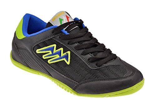 Agla K350 Indoor Futsal Neu Herren Schuhe Schwarz