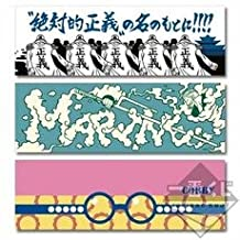 Lottery one piece ~ VS Navy Hen ~ G Prize face towel most all three Complete Set (japan import)