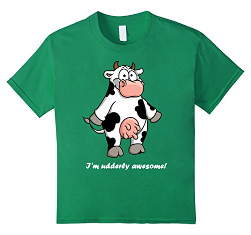 kids-im-udderly-awesome-t-shirt-for-dairy-farmers-4-kelly-green