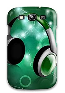 Galaxy Cover Case - Musical Party Protective Case Compatibel With Galaxy S3