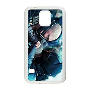 Popular And Durable Designed TPU Case With the dark knight rises 2012 Samsung Galaxy S5 Cell Phone Case White