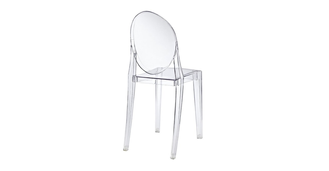 Amazon.com: kardiel Philippe estilo Ghost Chair: Kitchen ...