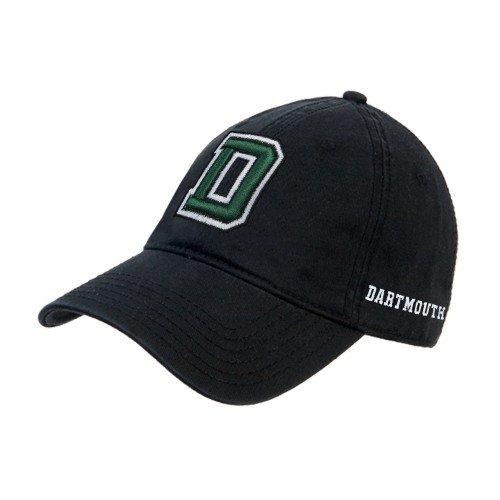 DartmouthブラックTwill Unstructured Low Profile帽子' Primaryマーク'   B01N5206TN