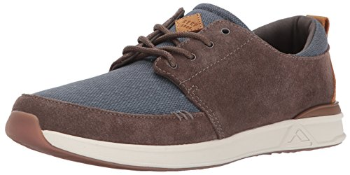 Reef Mens Rover Low Se Fashion Sneaker Blu / Grigio