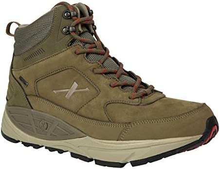 Xelero Hyperion II-high Men s Comfort Therapeutic Extra Depth Hiking Shoe Leather mesh lace-up