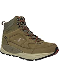 Xelero Hyperion II-High Mens Comfort Therapeutic Extra Depth Hiking Shoe Leather/Mesh Lace-up
