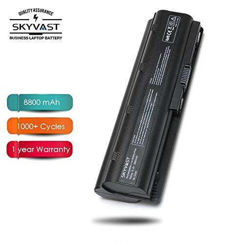 12 Cells MU06 MU09 593553-001 593554-001 More Than 5 Hours Extended Capacity (8800mAh) Notebook Battery for HP Presario CQ32 CQ42 CQ43 CQ430 CQ56 CQ62 CQ72 - SKYVAST (Capacity Notebook Large Battery)