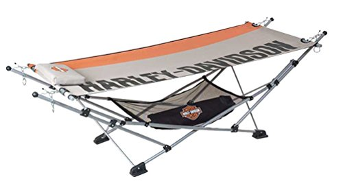 Harley-Davidson® Portable Hammock. Set Up, Take Down Easy. HDL-10059 by Harley-Davidson