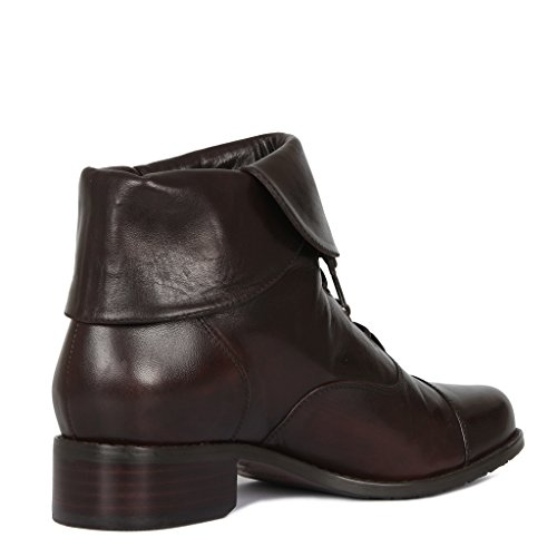 Cuff Women's Collection Leather TJ Boots zatqw