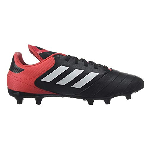 adidas Men's Copa 18.3 FG Soccer Shoe, Core Black/White/Real Coral, 10 M US