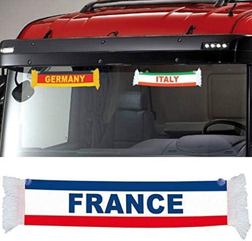 Spain Espa/ña Mini TRUCK DUCK/® Camiones Auto Mini Bander/ín Bandera ventosa Espejo Decoraci/ón