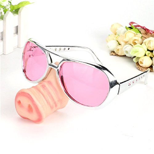 Ponce Fashion Fake Pig Nose Fancy Dress up Costume Props Cosplay Supplies]()