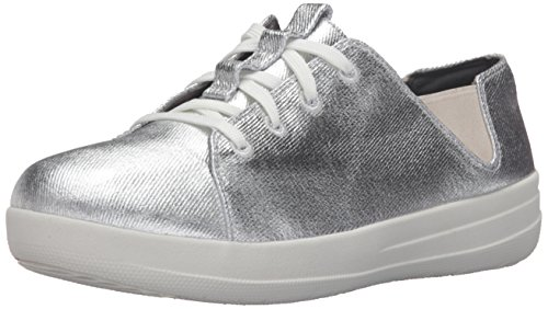 FitFlop Women's F-Sporty Laceup Fashion Sneaker