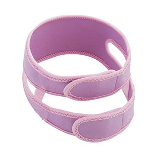 DierCosy 1 Piece Anti-snoring Chin with New Anti-snoring Chin Strap for You to Have a Good Sleep Chin Support Belt Pink Household Supplies