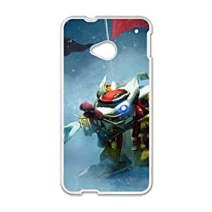 HTC One M7 Phone Case Cover White League of Legends Whistler Village Twitch EUA15975362 Phone Case Back DIY