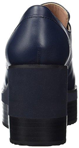 Jil Sander Ladies Jn29080 Plateau Pumps Blue (731)