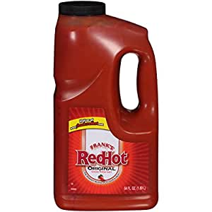 Frank's RedHot Original Hot Wing Sauce, 64 oz, Large Size