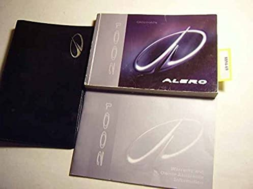 2001 oldsmobile alero owners manual with case book set oldsmobile rh amazon com 2000 oldsmobile alero owners manual 2001 oldsmobile alero owners manual online