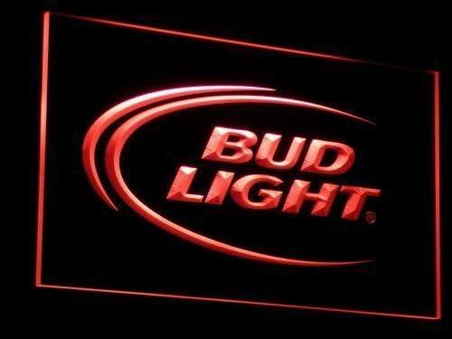 Budweiser LED Zeichen Werbung Neonschild Rot