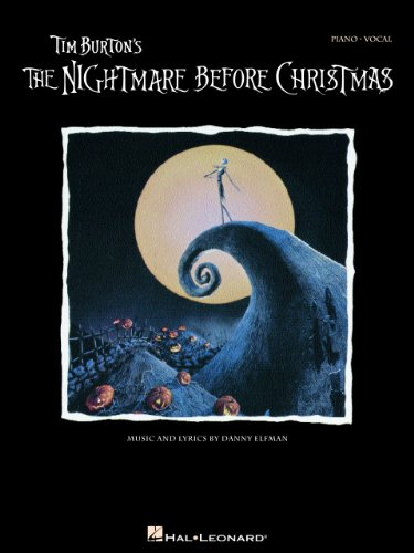 Tim Burton's The Nightmare Before Christmas Songbook: P/V/G (Piano Vocal Series)
