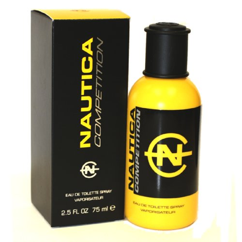 Nautica Competition By Nautica For Men. Cologne Spray 2.5 Oz Yellow Bottle -