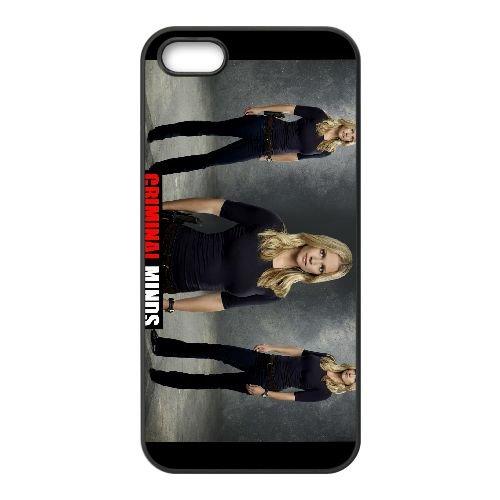 Criminal Minds 004 coque iPhone 4 4S cellulaire cas coque de téléphone cas téléphone cellulaire noir couvercle EEEXLKNBC24339