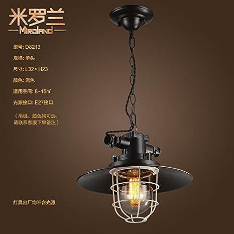 Industrial Vintage lámpara colgante el AMT del patín Planta ...