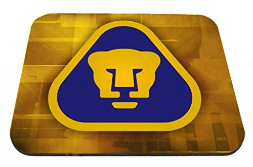 Pumas UNAM Mexico Soccer - Desktop Mousepad Laptop Mousepads Comfortable Computer Mouse Mat Cute Gaming Mouse pad Mice Pad Mat