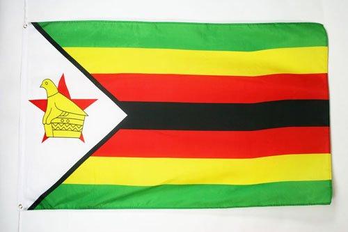 (AZ FLAG Zimbabwe Flag 3' x 5' - Zimbabwean Flags 90 x 150 cm - Banner 3x5 ft)