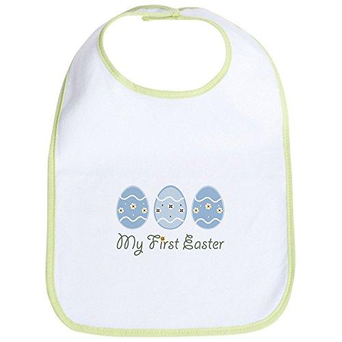 (CafePress - My First Easter Eggs Bib - Cute Cloth Baby Bib, Toddler Bib)