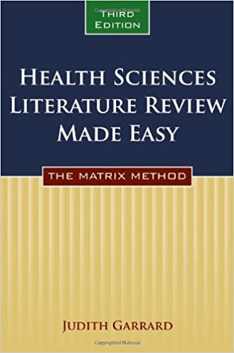Literature review books