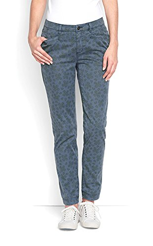 Orvis Everyday Ankle Chinos, Leaf Print, 4