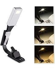 HJ Stay Real Klips na książkę, lampka do czytania, ładowana przez USB pielęgnacja oczu podwójna jako zakładka elastyczna, 3 tryby światła lampa LED do czytania książki e-booków do czytania w łóżku, Kindle, iPad