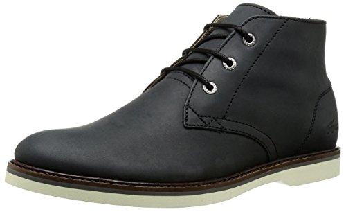 Lacoste Men's Sherbrooke HI 116 1 Chukka Boot, Black, 10 M US