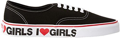 Bestelwagens Unisex Authentiek Ik Hou Van Meisjes Skate Schoen 8