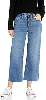 Amazon Brand - Goodthreads Women's High-Rise Wide Leg Cropped