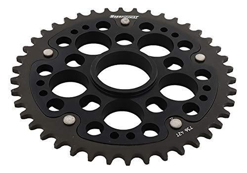 SuperSprox RST-736-42-BLK Black Stealth Sprocket