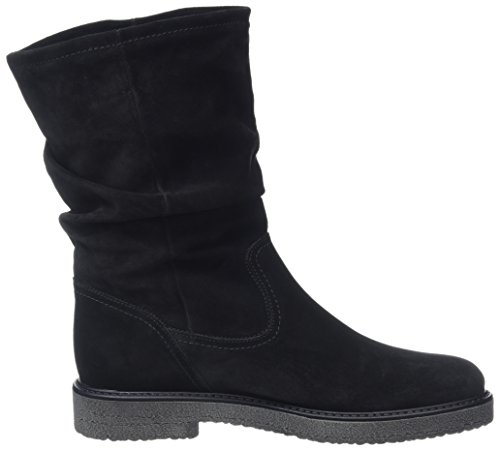Black Fashion Gabor Boots Schwarz Anthrazit Women's RAtqBn1