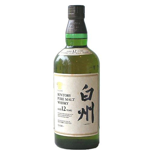 サントリー 白州 12年 750ml 43度 ピュア・モルト・ウイスキー 【古酒】